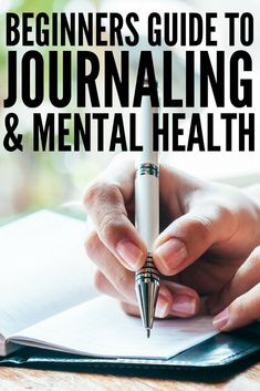 Journaling for mental health: 20 tips and writing prompts to teach you how to start journaling for anxiety and depression, and how to keep the momentum going! Planners, Journaling For Anxiety, Art Journaling, Therapy Journal, Mental Health Journal, Mental Health Therapy, Ginger Benefits, Health Challenge, Writing