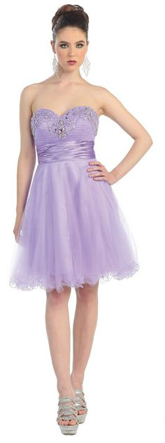 Short Bridesmaid dress in color Purple, White, Fuchsia/Pink & more - Strapless style in Sequin - Plus Size available. - $79.99 - Dress URL: http://www.jessicasfashion.com/hot-new_prom-dress.-mq700.html #dress #bridesmaiddress #fashion #bridesmaiddress #fashiones  #dressshopping  #sequindress #shortdress #shortdresses #straplessdress #straplessdresses #plussizedress