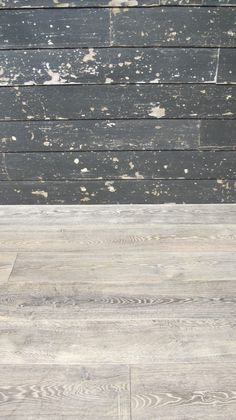Painted Wall Cladding, Worn Out Wooden Cladding, Distressed Wood Cladding, Painted Cladding Oak Cladding, Wooden Cladding, Engineered Wood Floors, Hardwood Floors, Flooring, Lounge Design, Wainscoting, How To Distress Wood, Building Materials