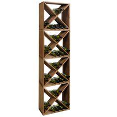 une colonne standard porte bouteille de vin casier vin porteurs tag res de rangement id du. Black Bedroom Furniture Sets. Home Design Ideas