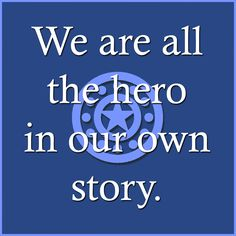 We all have a story....
