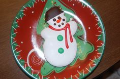 Snowman Cookie from Nord's bakery