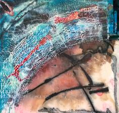 Latest piece (almost finished) - still not sure which way up it goes. Inspired by Google Earth pics of UAE shore lines.  There is pleasure in the pathless woods, there is rapture in the lonely shore, there is society where none intrudes, by the deep sea, and music in its roar; I love not Man the less, but Nature more. Lord Byron  Folded pen, Brause nibs, acrylic ink, gesso and water