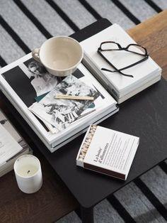 Fredericia furniture: The Modern Originals of tomorrow Piloti Side Tables by Hugo Passos (square)