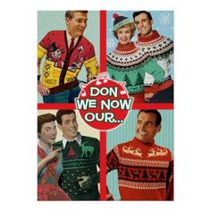Holiday Sweaters Party Invitation