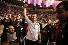 Pablo Iglesias y su equipo revalidan su liderazgo al frente de Podemos