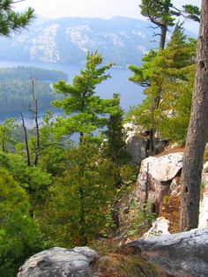 Kilarney Provincial Park, Georgian Bay, Ontario - Some of the best hiking trails in Canada are here