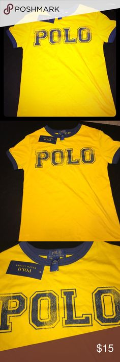 Boys Polo Tshirt New with tags, boys size 8, 100% cotton Polo by Ralph Lauren Shirts & Tops Tees - Short Sleeve