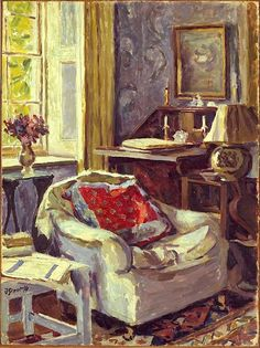 bofransson: Duncan Grant Artist's Study at Charleston 1967
