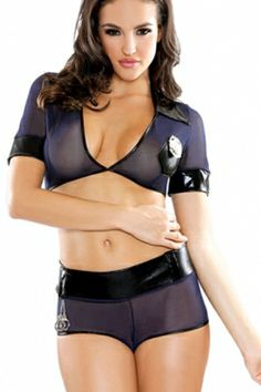 Kinky cop fastened tormented