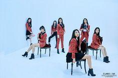 CLC reveal special behind-the-scenes teaser images for 'Black Dress' | allkpop.com
