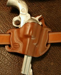 leather ruger holster slide with loop - Google Search