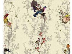 Timorous Beasties Birds N Bees Wallpaper