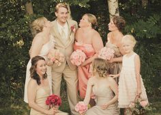 wedding photo ideas groom with the maids August 24, Bridesmaid Dresses, Wedding Dresses, Maids, Photo Ideas, Wedding Photos, Groom, Photography, Bridesmade Dresses