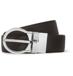 Dunhill Cut-to-Fit Chassis Embossed-Leather Belt | MR PORTER