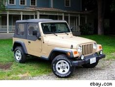 I could pull my cute camper with a matching Jeep wrangler or an old CJ that's been fixed up to be a power machine. This one was actually used on Gilmore Girls and is for sale, but I'm too poor, but that would be so awesome.