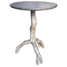 Kaia Mahogany Side Table