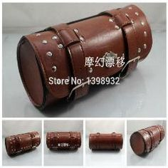 954ee2b641c New Black And Brown Pu Motorcycle Saddle Bags Cruiser Tool Bag Luggage  Handle Bar Bag Tail Bags