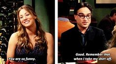 Leonard and Penny. My favorite Big Bang Theory couple Leonard And Penny, Big Bang Theory Quotes, The Big Band Theory, Internet Trends, Nerd Love, Himym, Female Friends, You Funny, Hilarious