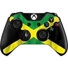 Skinit Decal Gaming Skin for Xbox One Controller - Originally Designed Jamaica Flag Design Video Games Xbox, Xbox Games, Ps4, Playstation, Jamaica Flag, Video Game Party, Xbox One Controller, Mens Gear, Countries Of The World
