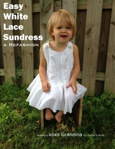 Such an easy sundress for a toddler!