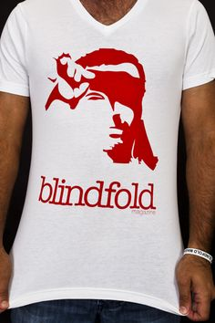 """Purchase in our """"Swag"""" store at blindfoldmag.com #vneck #tees"""