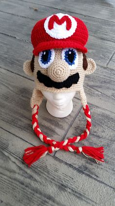 A fun & unique hat for all the Mario fans out there.