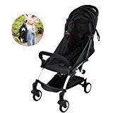 #10: Superland One-Key Mini Folding Baby Stroller 0-36 Months Travel System Small Pushchair 360-degree Swivel Front Wheel Bottle Rack Infant Carriage (0-3 Years XF-598L) #BabyStrollers