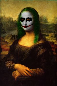 "a little manipulation i did with photoshop. the idea behind this work: ""let the Mona Lisa be a little funnier"""
