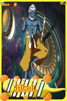 Jilcol- Team Universe 10. Dragon ball super
