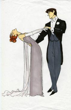 Princess Annyastasia and Prince Dimitri French European royal ballroom dancing pair