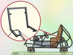 Image titled Create a Go Kart with a Lawnmower Engine Step 14