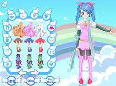 Design Angel Avatar - Anime Dress up Games - Dressup24h.com