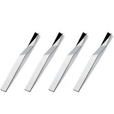 "Alessi ""Presto"" Set of Four Espresso Spoons"