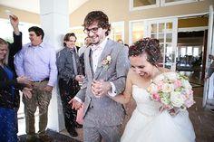 Cute and sweet wedding featuring a Stella York wedding gown