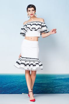 Amazing tops and skirts JX876, USD59 per set, Size S M L available