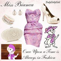 Disney Style: Miss Bianca, created by trulygirlygirl