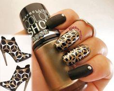 #nailart #stamping #nailart #mani #uñas #diseñodeuñas #uñasestampadas #sexynails #moda #estilo #style #fashion #boots