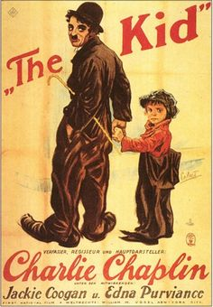 The Kid, German Movie Poster, 1921 Giclee Print at Art.co.uk
