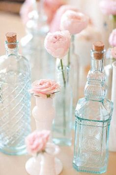 Pale Pink + Baby Blue Wedding Bliss
