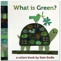 Kate Endle What is Green Board Book