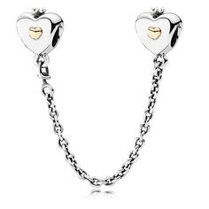 Pandora Heart & Crown Safety Chain - £85.00