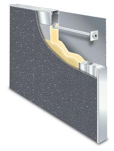 Fiberglass Reinforced Polyester (FRP) door and aluminum frame system - CURRIES