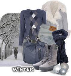 """snow winter"" by sagramora on Polyvore"