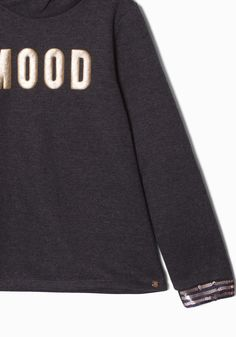Sweat gris fille IKKS | Mode Pull, sweat, cardigan Automne Hiver