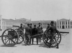 Turkish artillery at gun drill, Ottoman Empire Fun World, World War I, World History, Turkey History, People Who Help Us, Turkish Army, Types Of Resources, Library Locations, Ottoman Empire