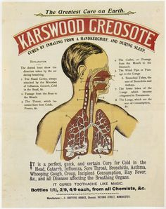 Vintage Ads. #Vintage #Ads #Advertising  Creosote is now a known major carcinogenic!