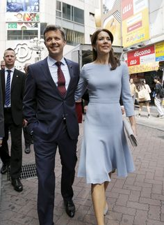 Crown Prince Frederik and Crown Princess Mary of Denmark in Japan, day 3 3/28/2015