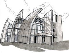 Light and Shadow: Jubilee Church, Richard Meier