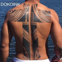 Malakai Fekitoa cross tattoo done by #DOKOINK